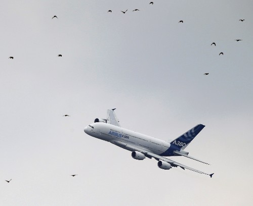 Opening Day at the Paris Air Show