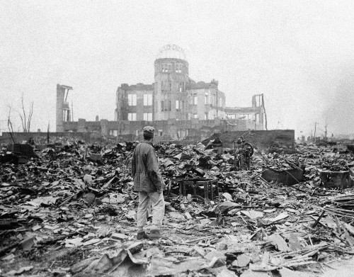 70 Years Since the Dropping of the Atomic Bomb on Japan: Photos