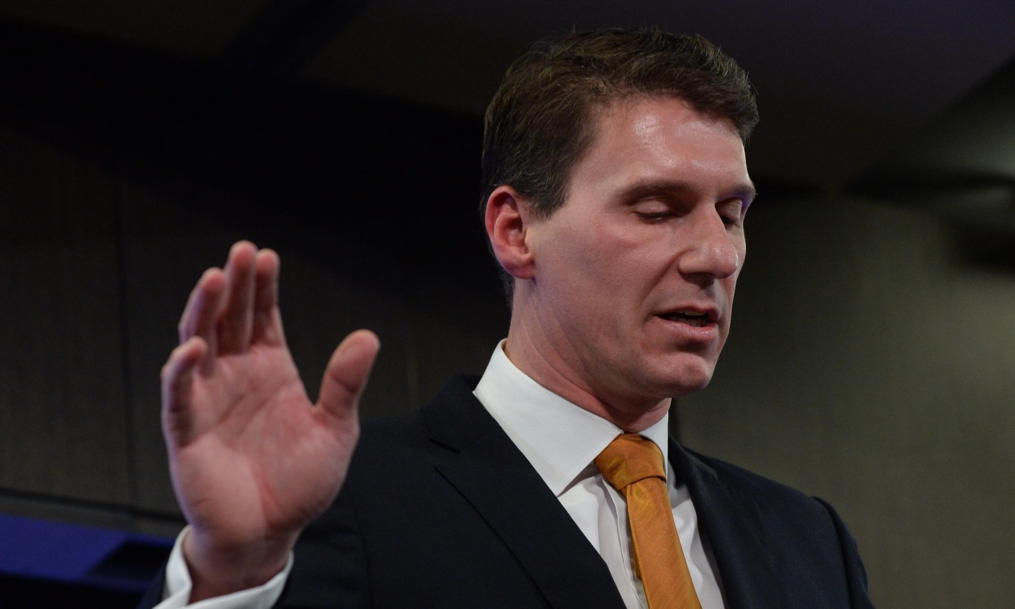 Australian senators Cory Bernardi and Malcolm Roberts pledge support for Donald Trump