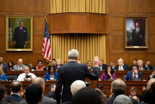 Mueller Testifies Before Congress: Pictures