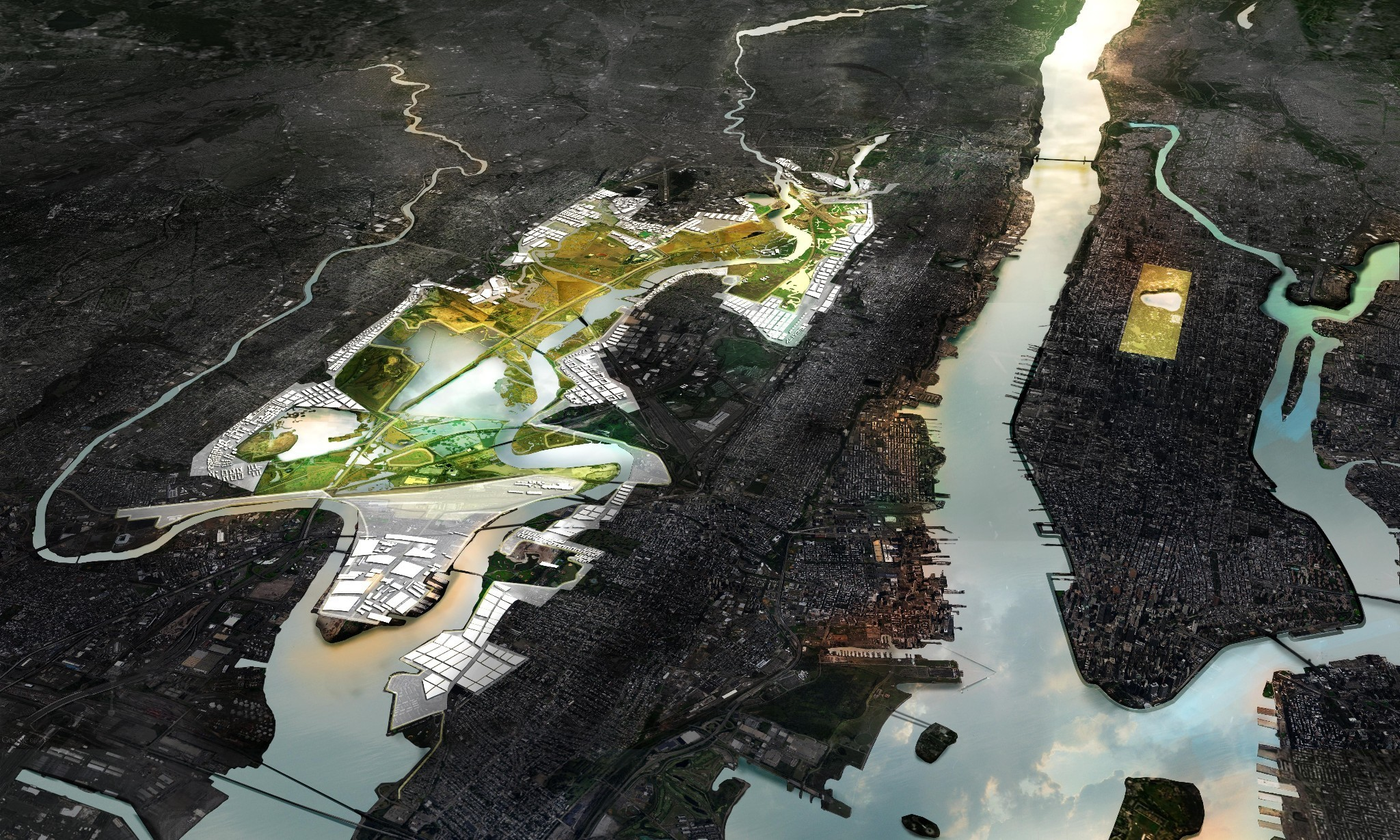 What would an entirely flood-proof city look like?