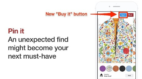 Pinterest announces 'buyable pins' so you can finally put your pinboards into your closet