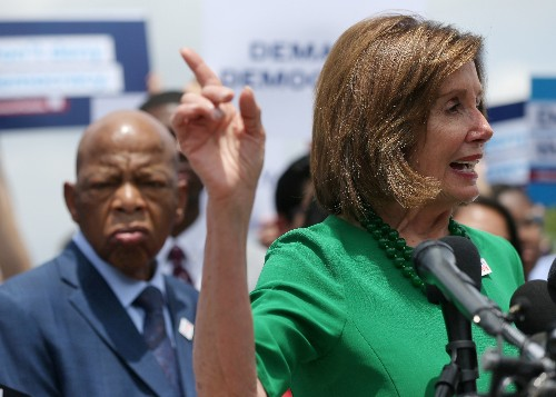 Pelosi, Trump spoke by phone about reconciling border aid funding