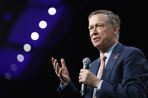 Ex-Colorado Gov. Hickenlooper says he's running for Senate