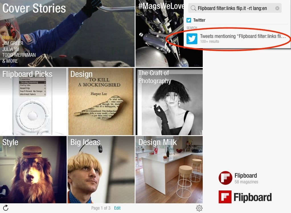Use This Trick to Find Cool Flipboard Magazines