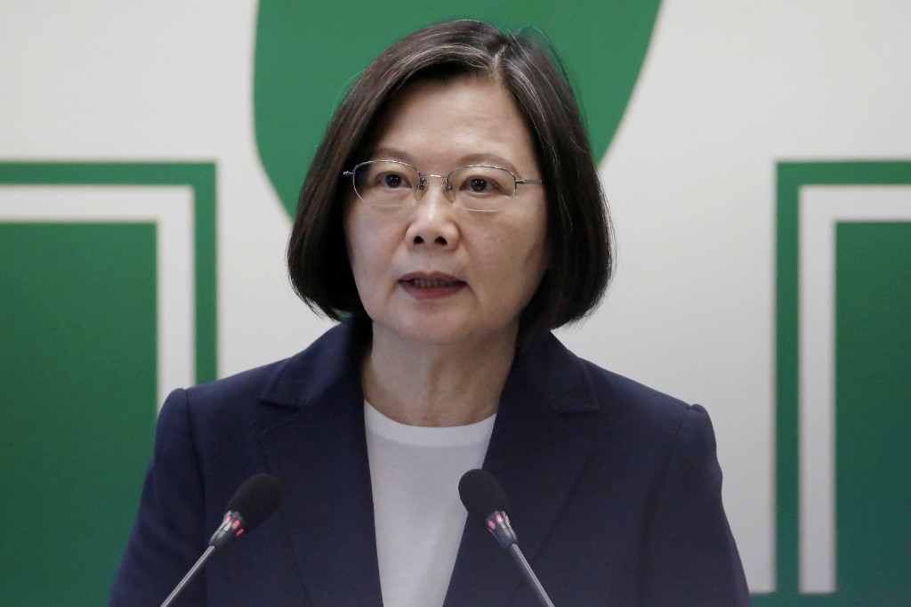 Taiwan president says drills show China is threat to whole region