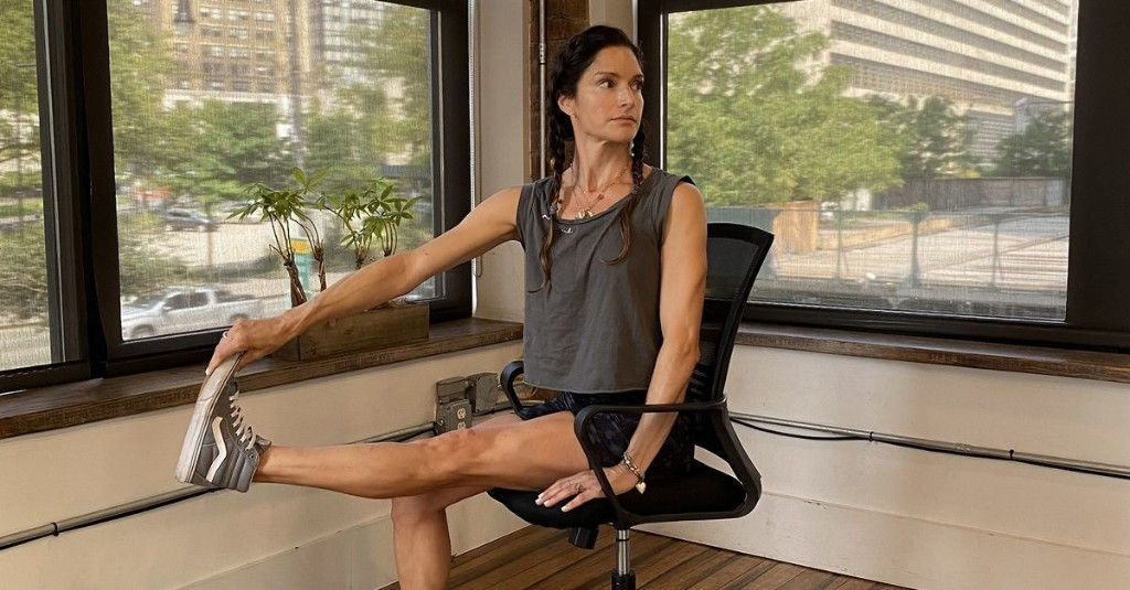 6 seated exercises to build strength at your desk