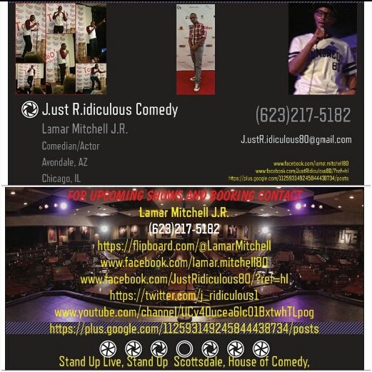 For upcoming shows and booking contact me @ J.ustRidiculous80@gmail.com