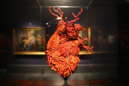 Red Gold Art Exhibition in Naples, Italy