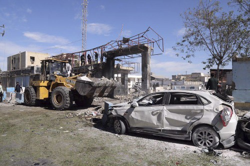 State TV says suicide car bombing kills 2 in southeast Iran