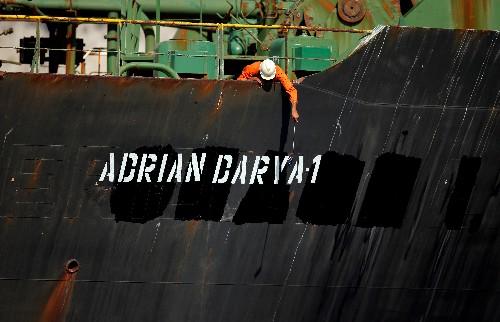 Iran warns U.S. against seizing released Iranian oil tanker