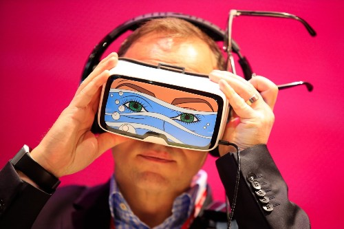 Mobile World Congress Day 1 in Pictures