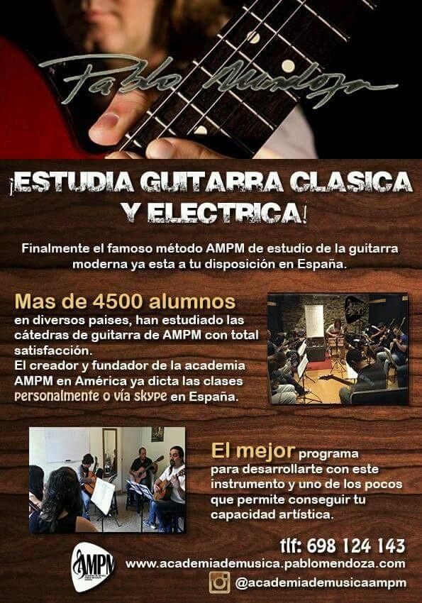 Clases De Guitarra Profesional - Magazine cover