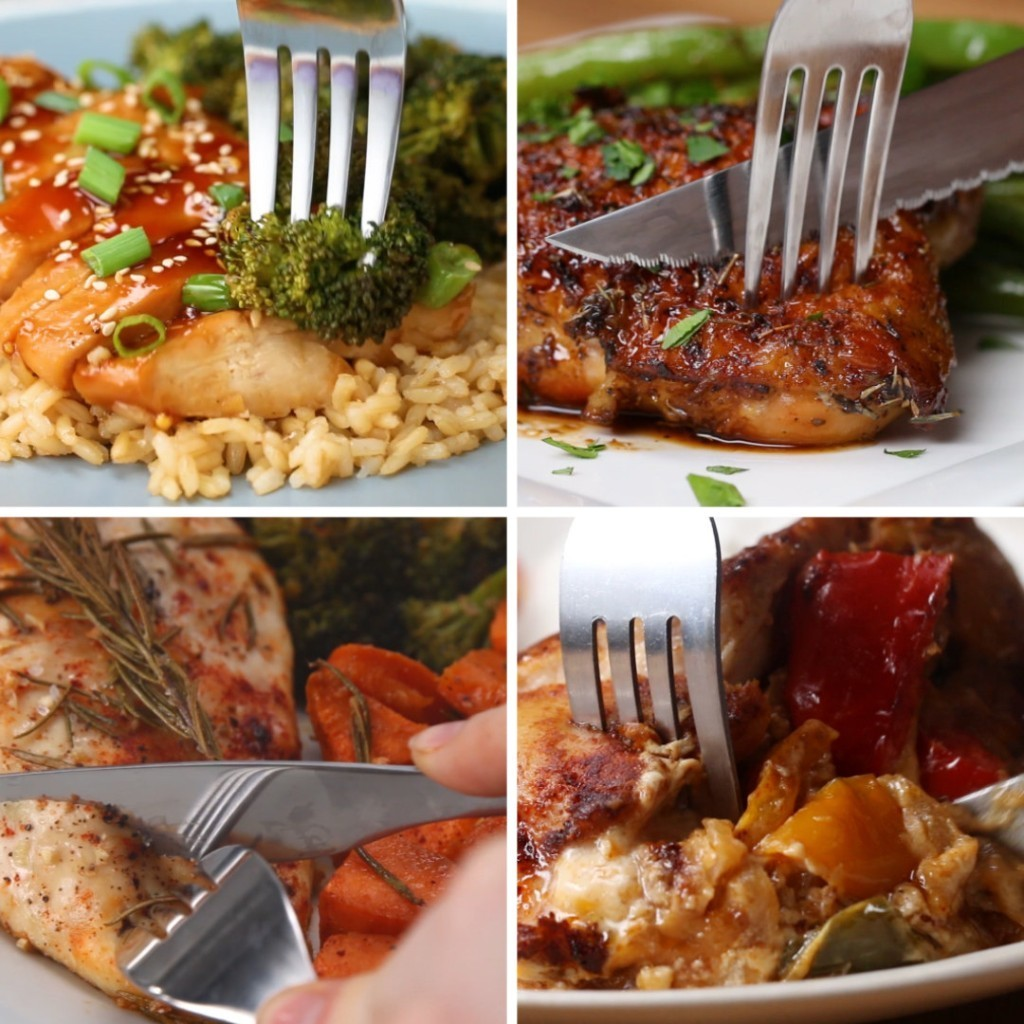 These 6 One-Pan Chicken Dinners Are Gonna Save You So. Much. Time.