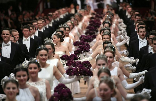 The Vienna Opera Ball in Pictures
