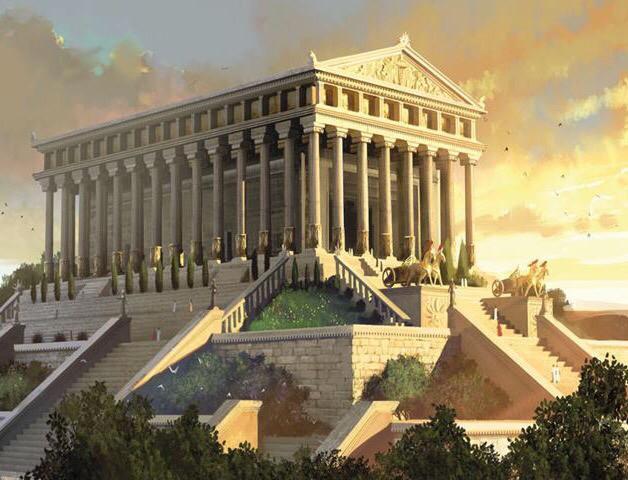 هيكل آرتميس هو معبد الإلهة اليونانية آرتميس (أو من كانت تدعى ديانا في الميثولوجيا الرومانية). تم الانتهاء من بنائه حوالي 550 ق.م في إفسوس (حاليا تقع في تركيا) ولا يوجد شيء من بقاياه الآن، ويعتبر الآن واحدا من عجائب الدنيا السبع. أحرِق المعبد عام 356 ق.م وبُني معبد آخر شبيه على أساساته. ثم أحرق القوط المعبد الثاني عام 262 م، ولم تبق سوى الأساسات وجزء من المعبد الثاني. ويحوي المتحف البريطاني منحوتتين من المعبد الثاني.