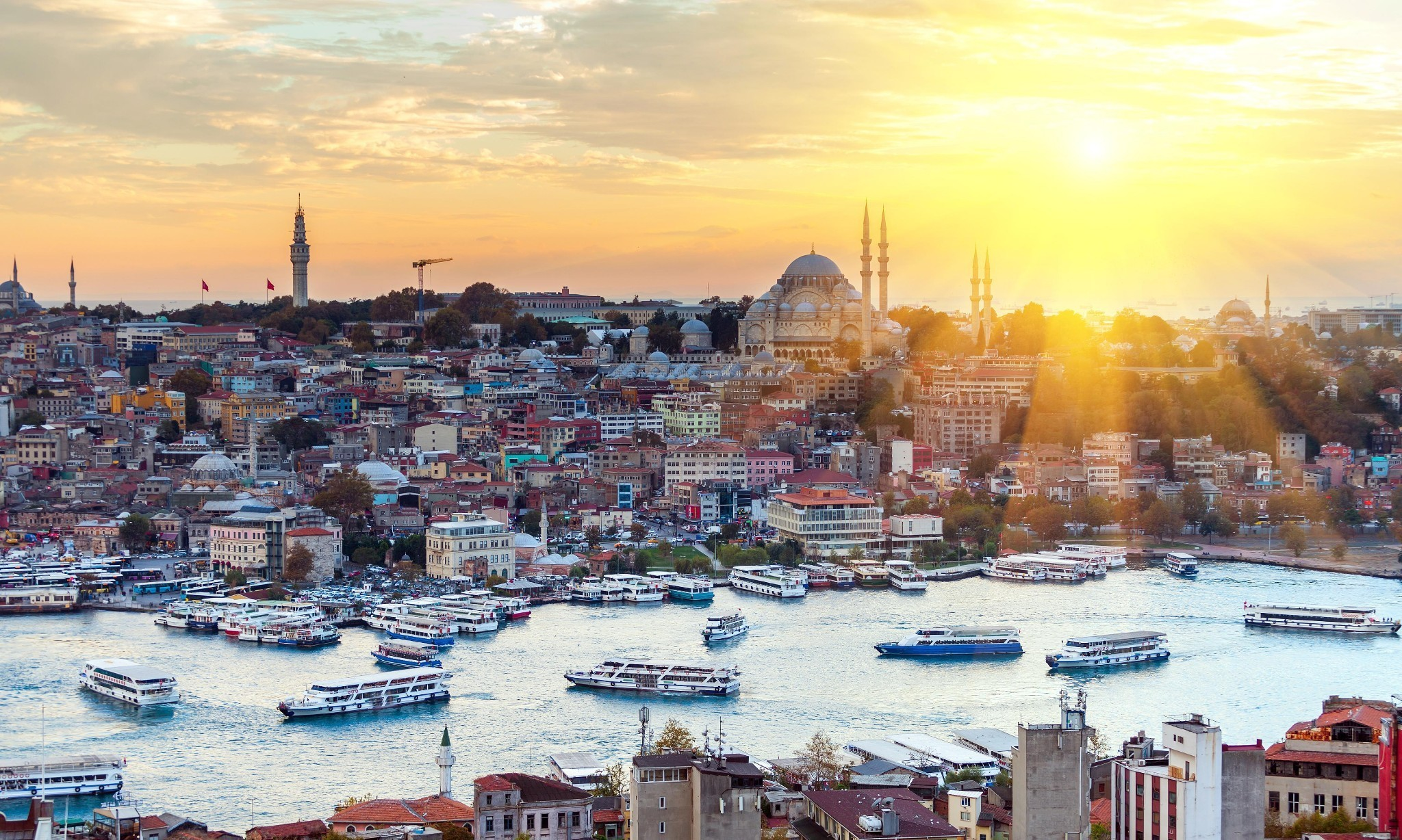 'Standing by the Bosphorus gives me goosebumps': Jason Goodwin's Istanbul