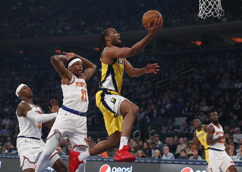 Pacers hold off Knicks