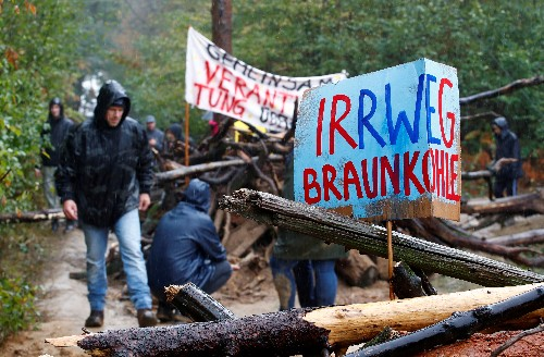 German state says Hambach forest will not be touched until 2020