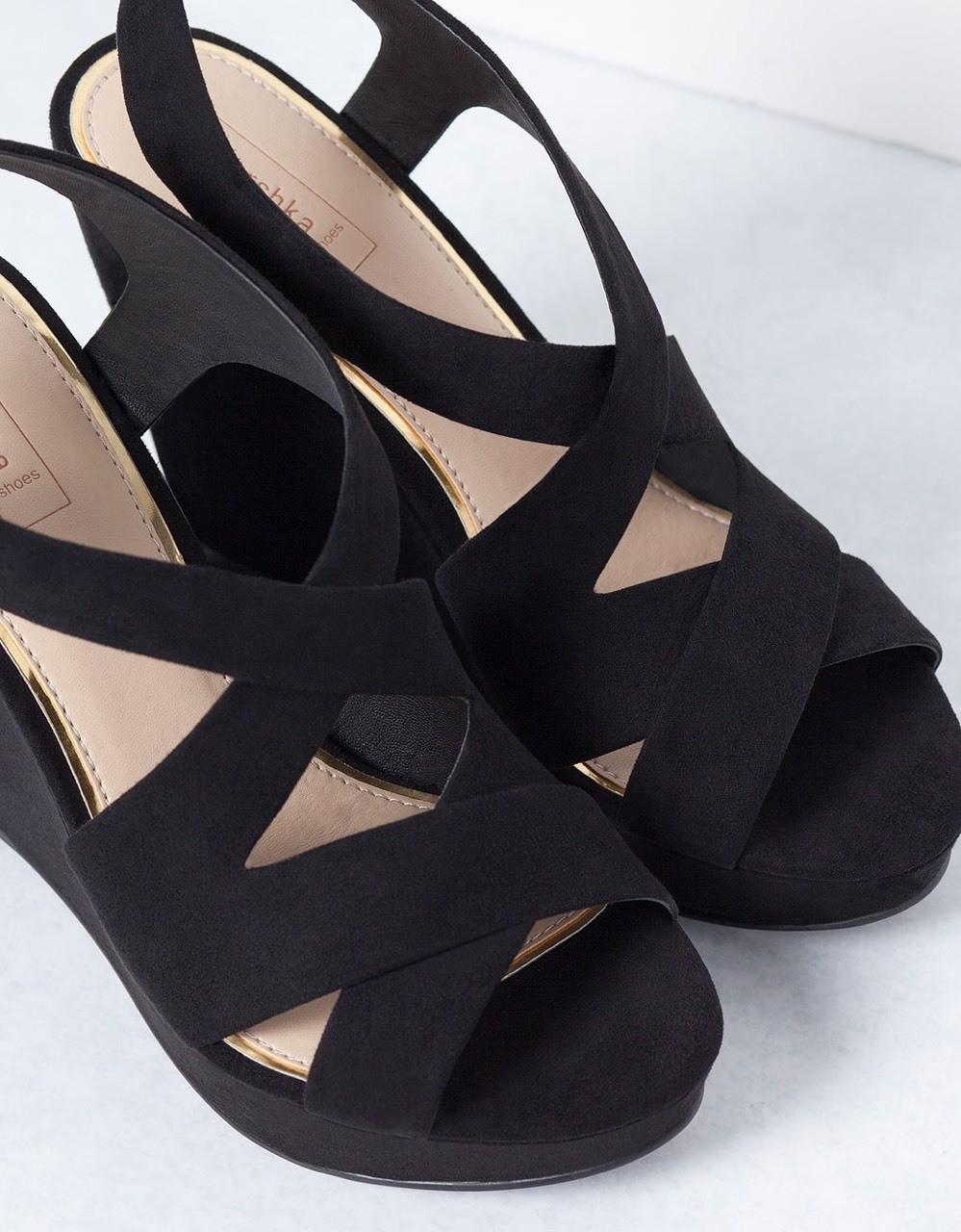 Bershka - Lovely rock heels!