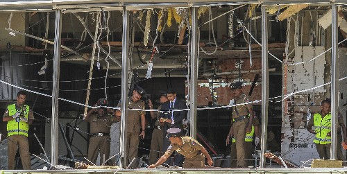Sri Lanka spy chief blamed for failures before Easter attack
