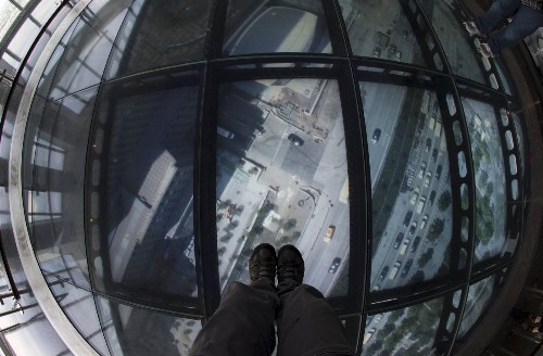 The View From the Observatory at One World Trade Center