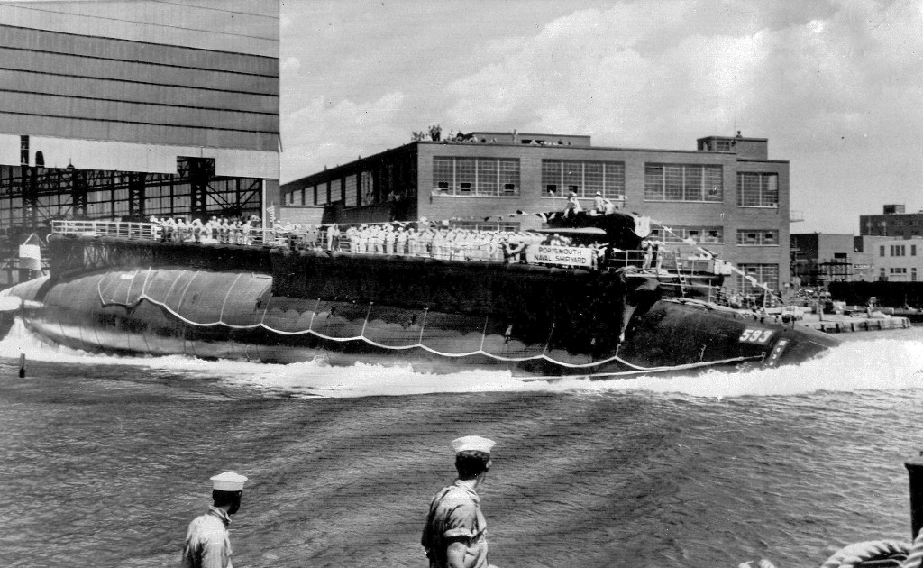 Navy releases documents from Cold War loss of submarine