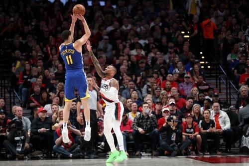 NBA notebook: Warriors, Blazers both enter Game 4 banged up