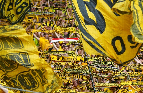 Soccer: Dortmund beat Gladbach to finish second in Bundesliga race