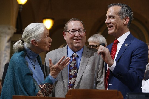 Los Angeles honors Jane Goodall on her 85th birthday