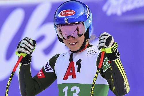 Shiffrin wins super-G, 2 days after downhill triumph