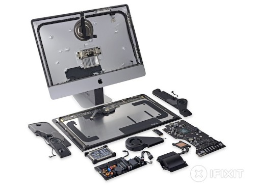 iFixit Teardown of New 21.5-Inch 4K iMac Reveals DCI-P3 Display, Empty Solder Pads