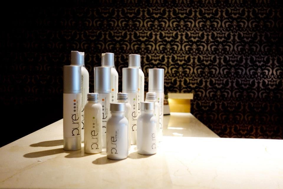 The product of choice for our SERENITY spa