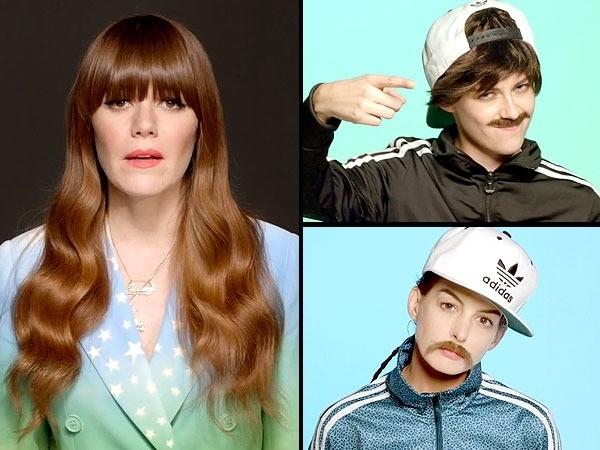 Kristen Stewart & Anne Hathaway Morph into Men for New Jenny Lewis Music Video