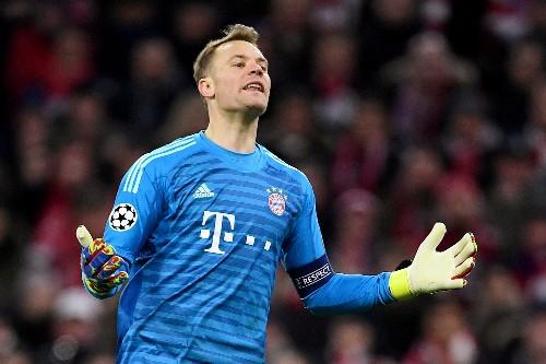 Soccer: Bayern keeper Neuer hopeful of playing again this season