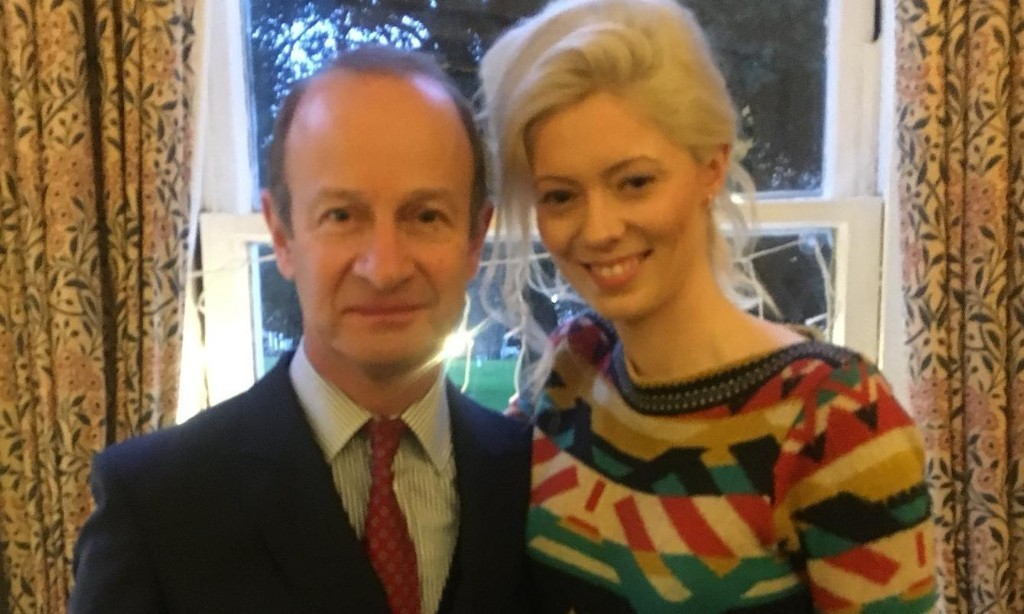 Ukip leader splits with girlfriend over racist messages
