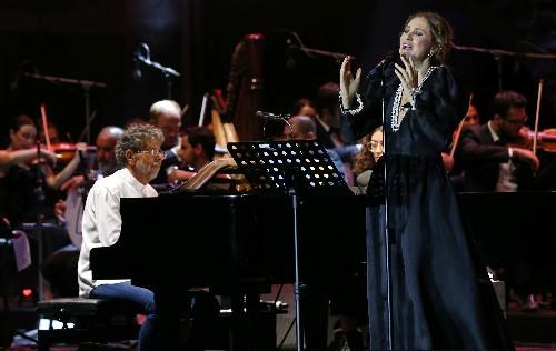 Descendent of Arab musical legend brings nostalgia to Lebanese festival