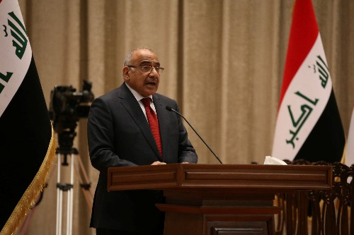 Iraq PM says IS militants seeking to cross to Iraq from Syria