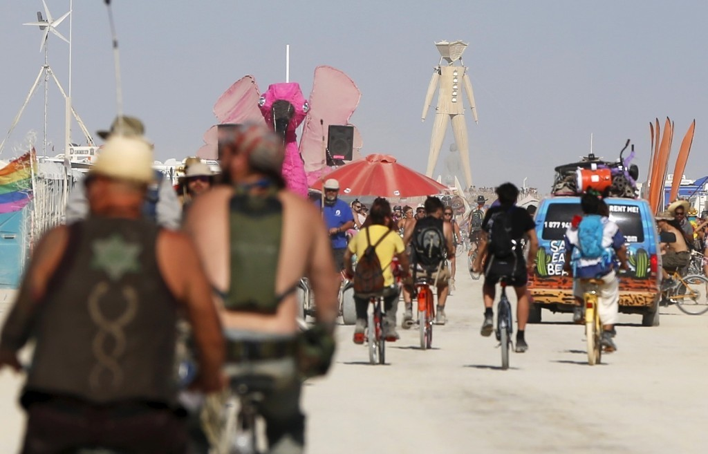 Burning Man 2015 Opens in Black Rock: Pictures