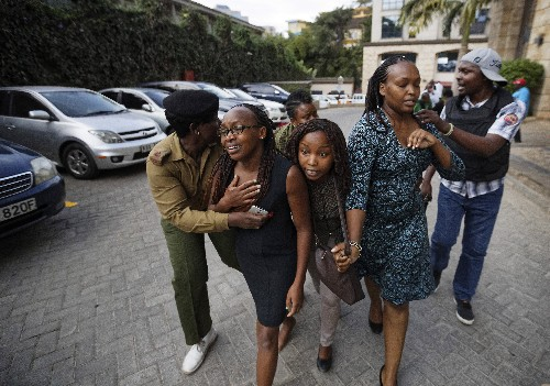 Al-Shabab extremists claim deadly attack on Nairobi hotel