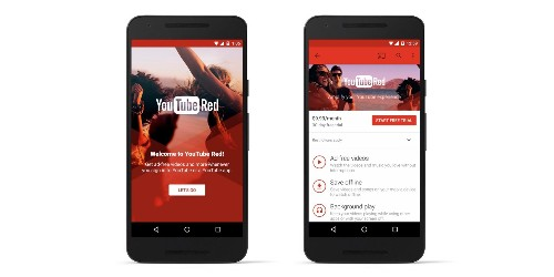 YouTube Red, A $9.99 Site-Wide Ad-Free Subscription With Play Music, Launches Oct 28