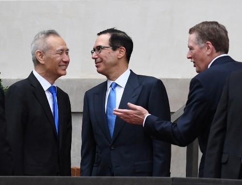 China Vice Premier Liu holds call with Lighthizer, Mnuchin
