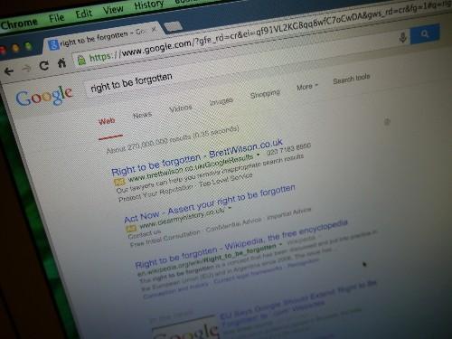 Google.com Domain Should Be Covered By Search De-Listing, Say European Regulators