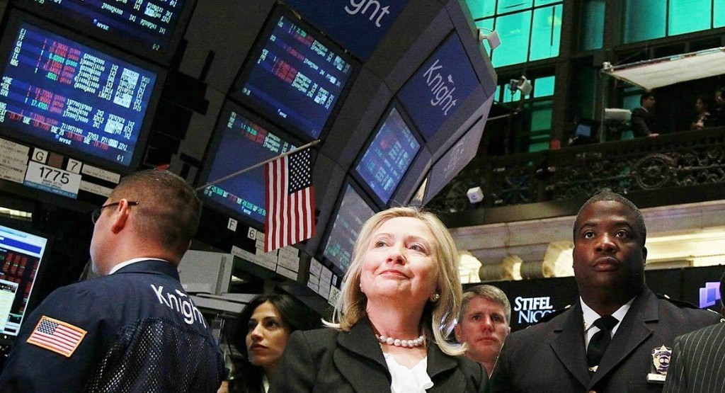 Why Wall Street Loves Hillary