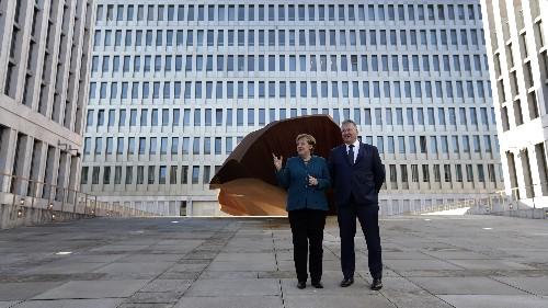 Contradicting Trump, Merkel says Islamic State not defeated