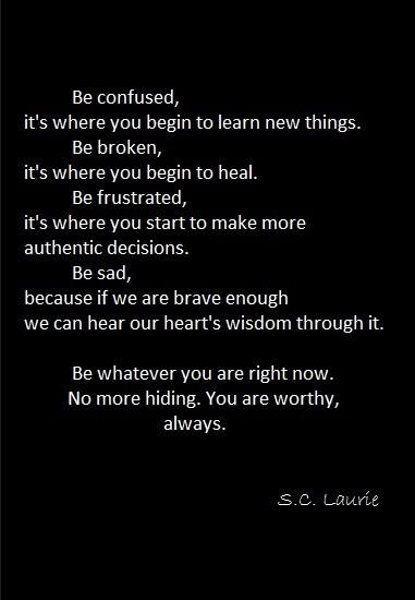 ...Be...always