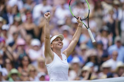 After fulfilling mother's dream, Halep chases her own