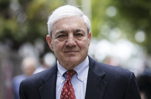 Former Penn State president richly paid as he fought charges