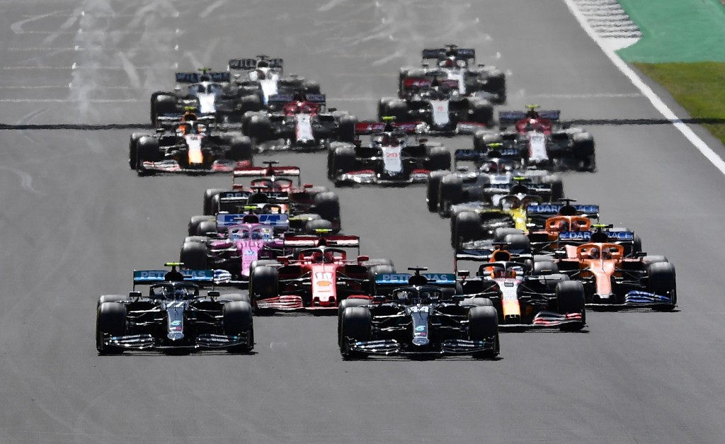Formula One's betting push is driven by data
