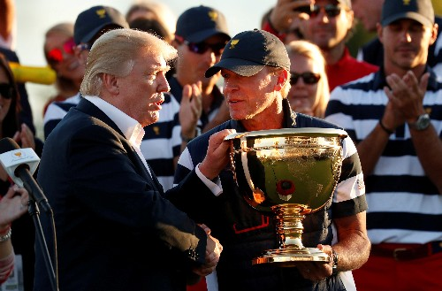 Golf: Stricker says communication key to his strategy as U.S. Ryder Cup captain